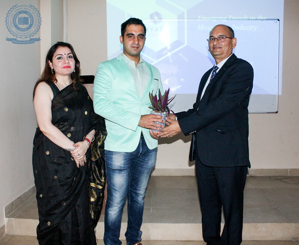 Guest Lecture on Emerging Trends in Hospitality - Hotel and