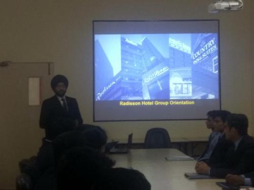Campus Placement- Radisson Blu-7